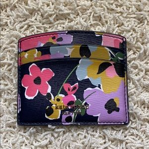 🎉EUC🎉 Kate Spade Sylvia floral cardholder